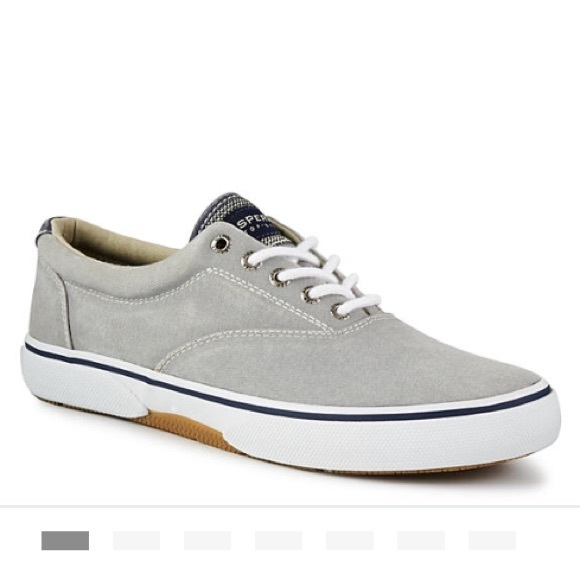 Sperry Shoes | Sperry Gray Halyard Cvo